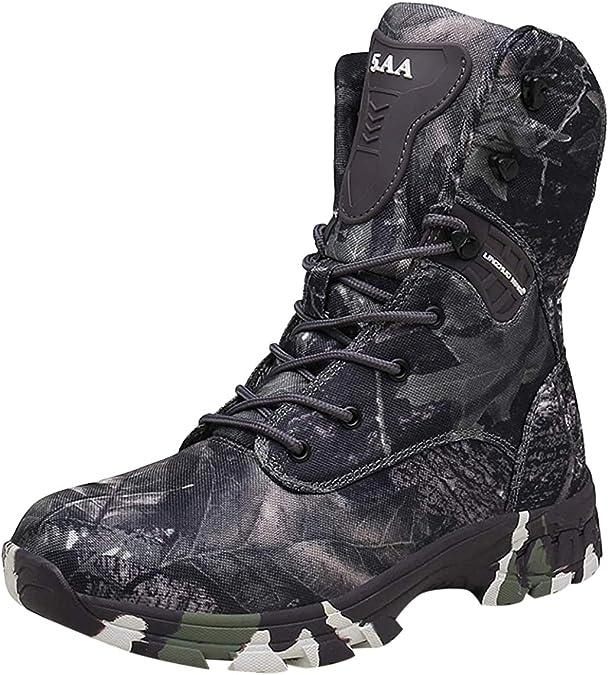 Camouflage Bottes noir valeur Semelle Armée utilisation Bottes 40-48