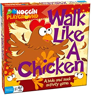 Kids Party Game - Noggin Playground's Walk Like a Chicken - A Hide and Seek Activity Game for Young Children