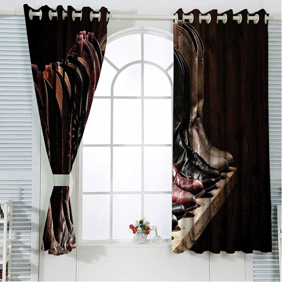 Western Window Treatments Al sold out. 63 Inches Brown Thermal Insula Brand new Length