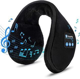 هدفون گوش های بلوتوث گوش گرمکن گوش ، گرم کننده گوش قابل استفاده EverPlus Unisex ، هدیه برای مردان زنانه بچه های کریسمس ، هدست های گوشواره های موسیقی بی سیم بلوتوث 5.0 با میکروفون برای زمستان در فضای باز