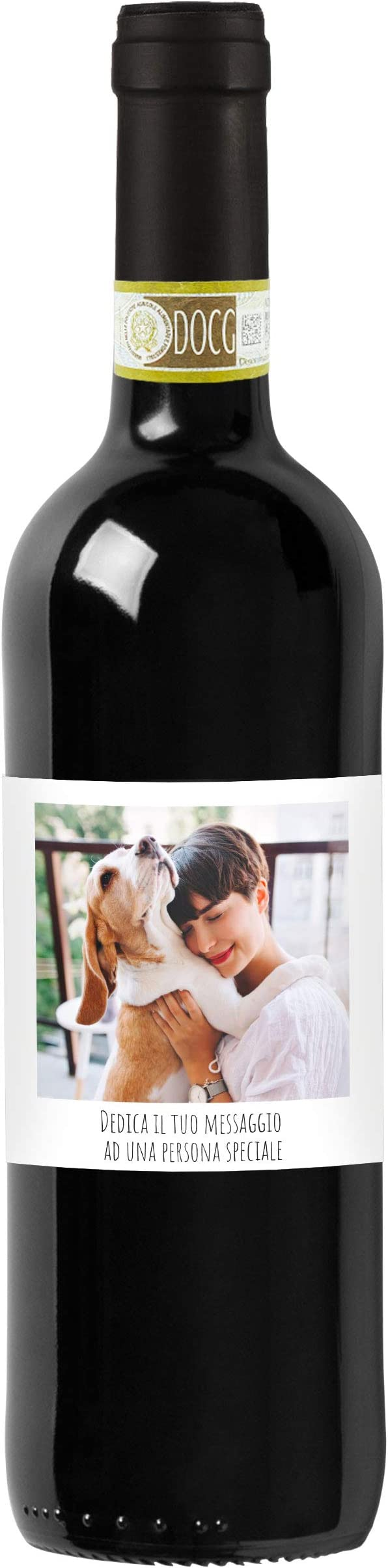 17 opinioni per Bottiglia personalizzata con foto e dedica di Chianti Classico DOCG- Idea Regalo