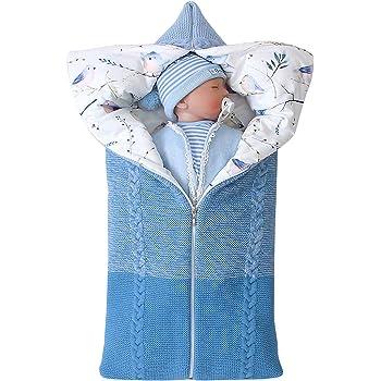 ROSEBRAR multifuncional ajustable recién nacido bebé swaddle manta ...