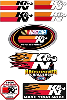 K and N 89-0200 Decal44; Promotional Pack 9. 5 in. X 6. 5 in.