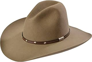 d9a988b0f94 Stetson Men s 4X Tan Mine Buffalo Felt Cowboy Hat - Sbslvm-5036 Stone