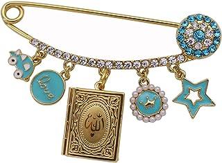 Islam Musulmano Corano Corano Allah Spilla In Acciaio Inossidabile Baby Pin