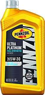 Best pennzoil 5w30 ultra platinum Reviews