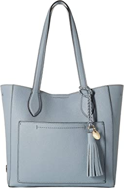 f1f13be8954c Guess delaney small classic tote blue