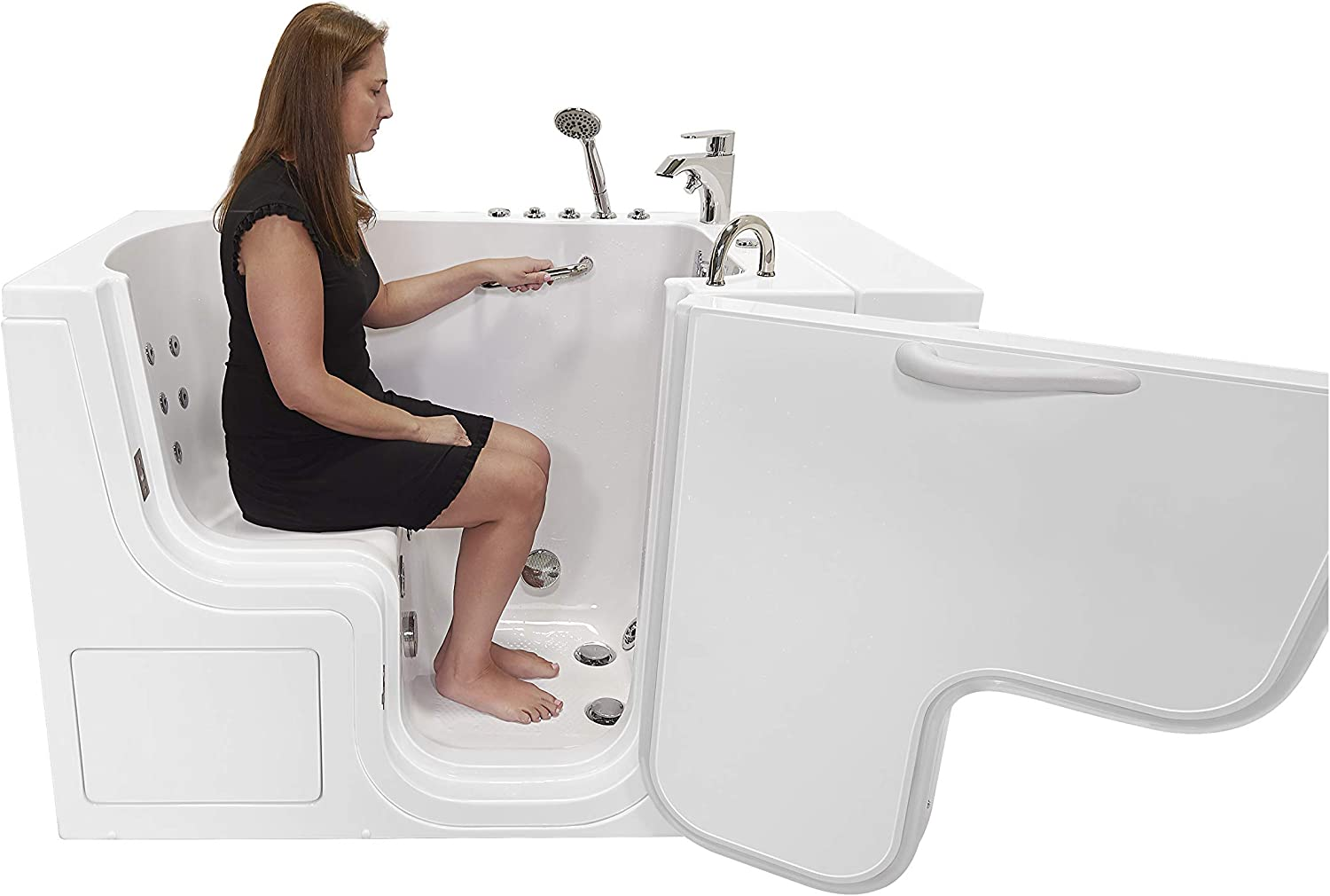 30x52 Transfer Surprise price Hydro Foot Massage Fast Acrylic Walk-In Fill Quantity limited Tub