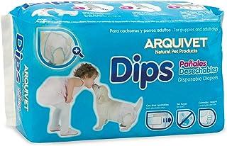 Arquivet Pañales Desechables para Cachorros y Perros Adultos - 18 piezas