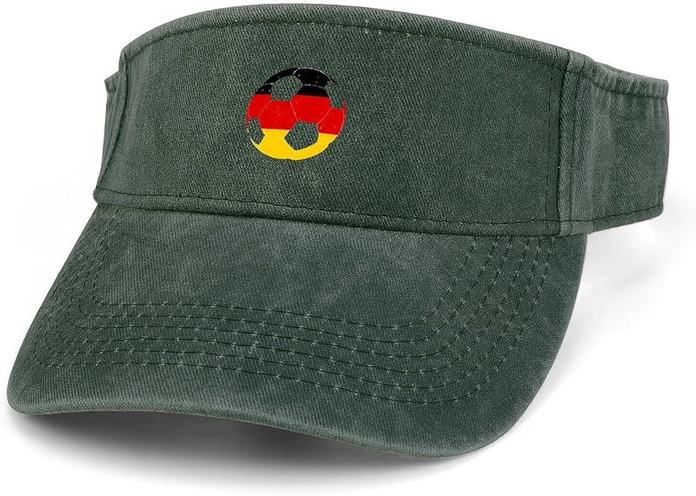 German Flag High quality new Football Soccer Women Adjustable Mesa Mall Brim Wide Clip V On