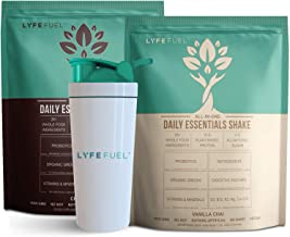 LYFE FUEL Transformation Bundle - Meal Replacement Shakes for Optimal Nutrition - Support a Whole Food Plant-Based Diet & Weight Loss - Vegan, Keto, Low Carb (2 Bags - Chocolate & Vanilla, 48 Meals)