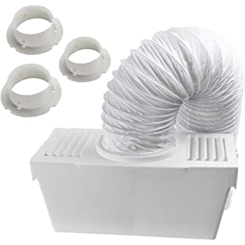Wall Mountable HOTPOINT Tumble Dryer Condenser Vent Hose Ventillation Kit Box