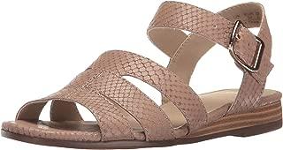 Naturalizer Women's Low Casual Comfort Leather Sandal Kaye