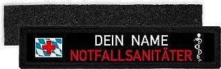 Copytec NOTFALLSANITÄTER Bayern Namen Schild Patch Bavaria Feuerwehr #32933