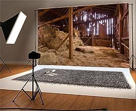 YongFoto 3x2m Vinilo Fondos Fotograficos Granero de madera viejo vintage Straw Hayloft Indoor Fondos para Fotografia Fiesta Niños Boby Boda Adulto Retrato Personal Estudio Fotográfico Accesorios