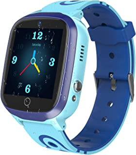 "YENISEY Kids Smart Watches GPS Tracker - 12 Hrs Waterproof Smartwatch with 1.4"" Touch Screen WiFi GPS LBS Track SOS 2 Way ..."