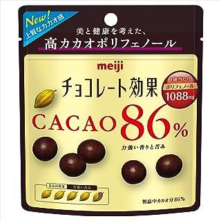 明治 チョコレート効果カカオ86%パウチ 37g×10袋