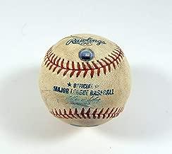2003 Houston Astros at Pittsburgh Pirates May 13 Game Used Baseball MR232217 - Game Used Baseballs