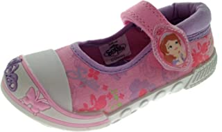 3894ace2766c5 Princesse Sofia The First pompes Plimsolls Baskets en toile Taille 4 10