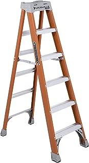 Louisville Ladder 6-Foot Fiberglass Ladder, 300-PoundCapacity, Type 1A, FS1506 (Renewed)