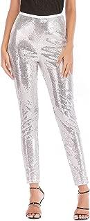 Best silver sequins leggings Reviews