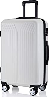 レーズ(Reezu) スーツケース ファスナー式 軽量 キャリーケース ジッパー 耐圧擦り傷防止 キャリーケース 機内持込 キャリーバッグ S Mサイズ 人気 小型 TSAロック付 静音 旅行出張 1年保証