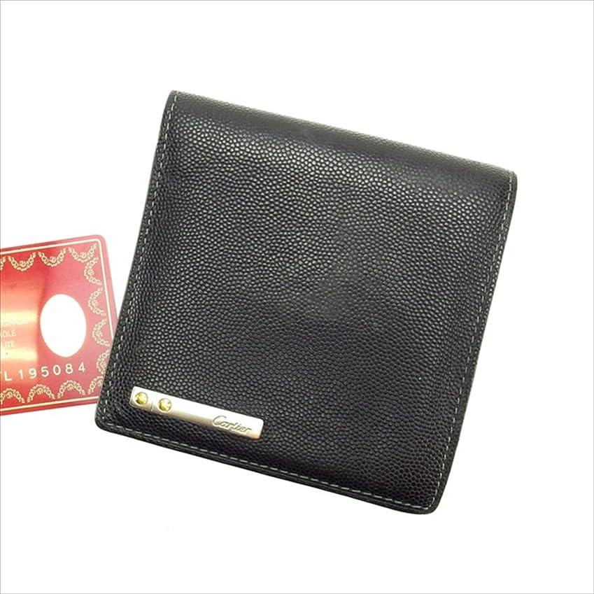 に関して国民ミュートカルティエ Cartier 二つ折り財布 ユニセックス 中古 A719