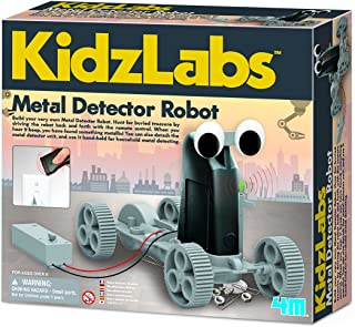 4M Fun Science Kidz Labs / Metal Detector Robot Educational Toys