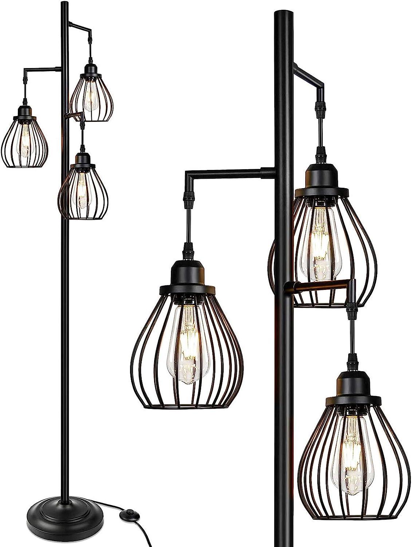 Industrial Floor Lamp for Popular Living Tree with El Direct stock discount Room 3