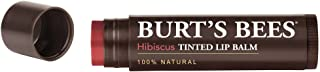 Burts Bees Tinted Lip Balm, Hibiscus, .15 Ounce (Pack of 2)