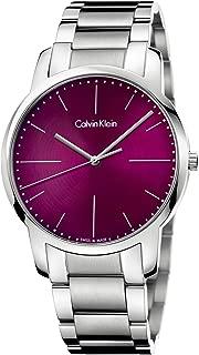 Calvin Klein City Quartz Red Dial Men's Watch K2G2G14P
