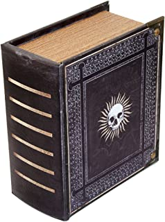 Wizardry Foundry Grimoire Pro Tour, Immortal | Wooden Spellbook Style Fabric Lined Portable Deck Box for MTG, Yugioh, and Other TCG | 350+ Card Capacity