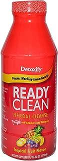 Detoxify Ready Clean Herbal Natural Tropical -- 16 fl oz