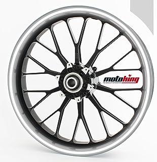 Motoking Felgenrandaufkleber 360° REFLEKTIEREND/ganzer Kreis/für 15' bis 18' / Farbe & Breite wählbar
