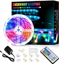 Led Strip Lights, 5M RGB Color Changing Led Strip Lights with 44 Keys Remote Controller 5050 LED Rope Lighting Strips for ...