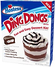 product image for Hostess Ding Dong Dessert Kit, Pudding Mix, Instant Pudding, Pudding Kit, Baking kit, Dessert Mix, Tasty Personal Dessert for the Holidays, Birthdays or Special Occasions, 8.06 OZ, 6 CT (Pack - 1)