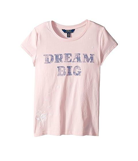 6a6eeb7f Polo Ralph Lauren Kids Cotton Jersey Graphic Tee (Little Kids/Big Kids)
