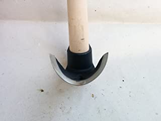 Curved Bowl Adze / Chisel - Ultra Small Curve - Steel 4150!!!
