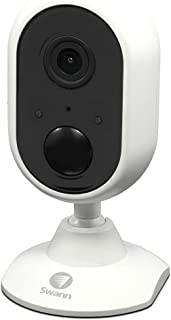 Swann Indoor Wi-Fi Security Camera | Wireless 1080p Camera | Works with Alexa and Google Assistant (SWWHD-INDCAM)