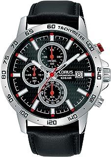 Lorus Sport Man Mens Analog Quartz Watch with Leather Bracelet RM309GX9