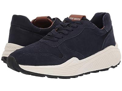 Steve Madden Sardan Sneaker (Navy Suede) Men