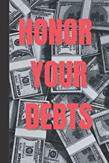 Honor your debts: A record book of debts you hold, in order to pay the debts back. Quick reference book.