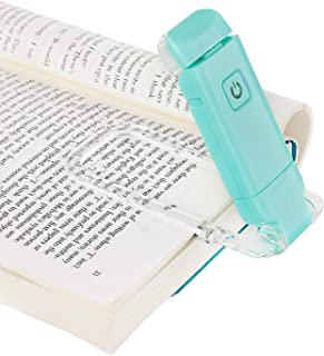 DEWENWILS USB Rechargeable Book Light for Reading in Bed, Warm White, Brightness Adjustable, LED Clip on Book Reading Ligh...