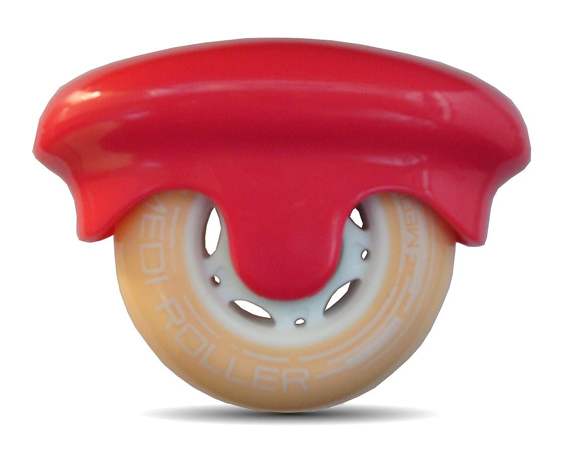 有彩色の彼悪行MEDI ROLLER (メディローラー) 巾着付き 点で押すセルフローラー (ピンク)