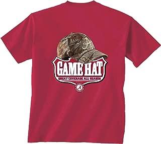 New World Graphics Alabama Camo Hat Short Sleeve T-Shirt
