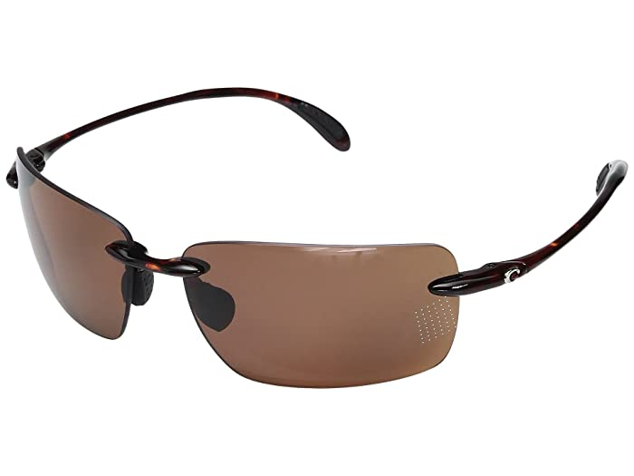 Costa  Gulf Shore (Tortoise Frame/Copper 580P) Sport Sunglasses