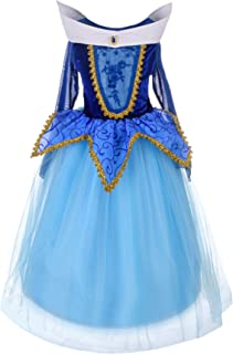 Dressy Daisy Girls' Princess Dress Up Costume Birthday Halloween Christmas Fancy Party Outfit