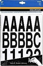 Hillman 847004 Black Die-Cut Letters/Numbers Kit, 2-Inch