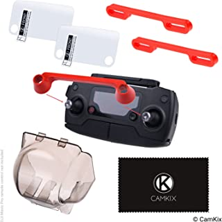 CamKix Drone Protection Kit Compatible with DJI Mavic Pro/Platinum - Shields The Camera and The Remote Control Screen - Locks The Position of The Gimbal, Joysticks and Propeller Blades - Guards