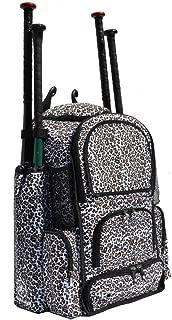 Cheetah Print Chita M Softball Baseball Bat Equipment Backpack CHTCAChitaM